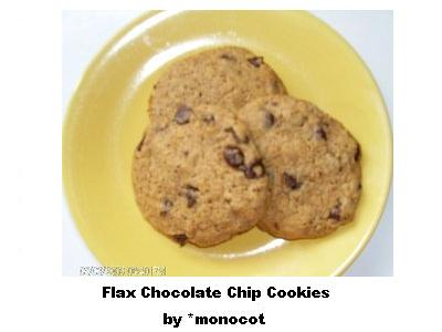 Flax Chocolate Chip Cookies by dAFoodies