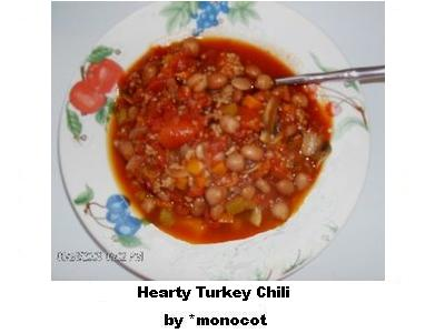 Hearty Turkey Chili by dAFoodies
