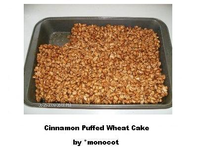 Cinnamon Puffed Wheat Cake by dAFoodies