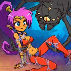 Shantae Two Spider Bondage