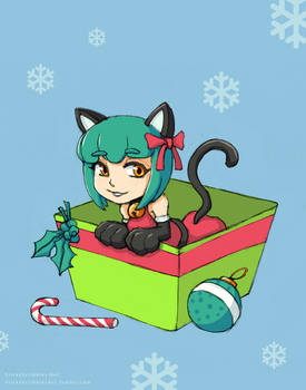 Mewsie Happy Holiday Greetings