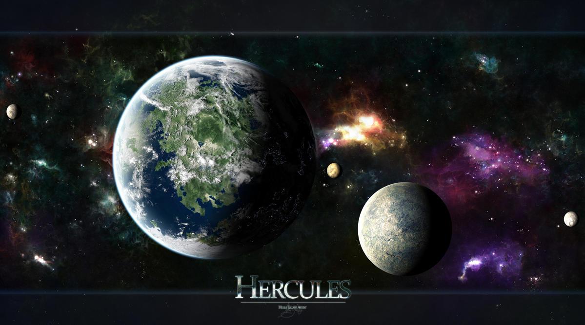 Hercules by TylerCreatesWorlds