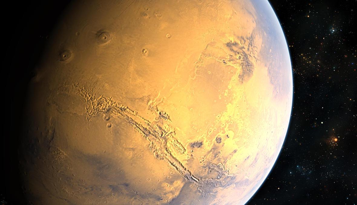 Mars by TylerCreatesWorlds