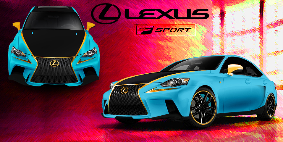 Lexus IS contest by TylerCreatesWorlds