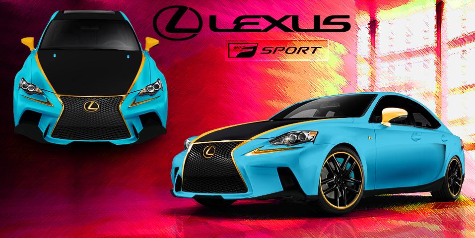 Lexus IS contest by TylerCreatesWorlds