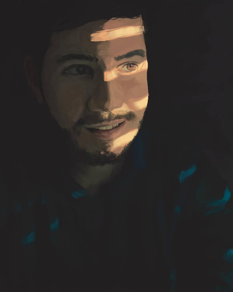 Self Portrait by TylerCreatesWorlds