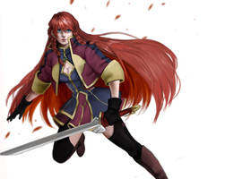 Selesia Re:creators by Aranren