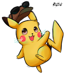 Pikachu, I choose you! by NuggetSangriento