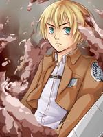 SnK: Armin by muska03