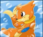 Buizel y Burbujas by mudkip-chan