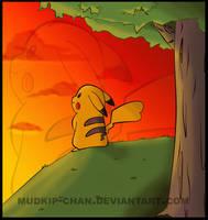 Una hermosa puesta de sol by mudkip-chan