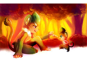 Lina y Luca by mudkip-chan