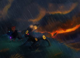 -Commission- DragoonVulpi by mudkip-chan
