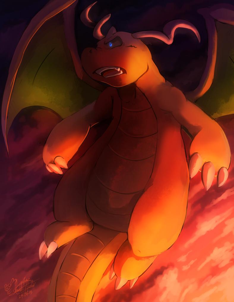 Dragonite by mudkip-chan