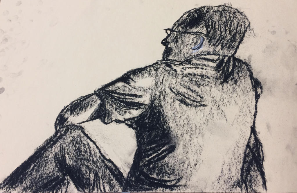 Charcoal Life Drawing by Elso12