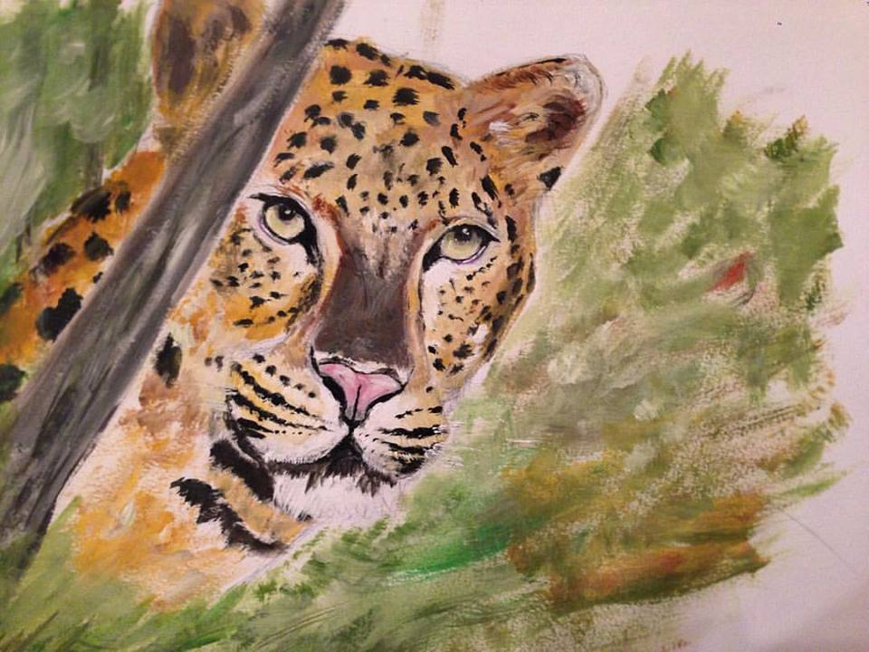 Critically endangered Amur Leopard by goshilpa