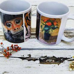 Painting mugs! by goshilpa