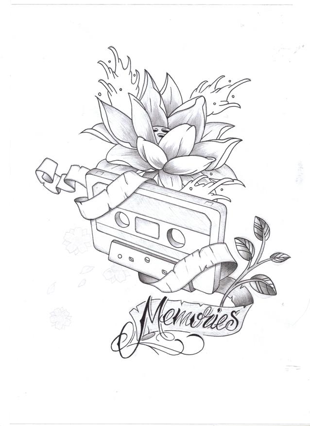 Line Art Tattoo Artists Near Me : Memories v by almost on deviantart