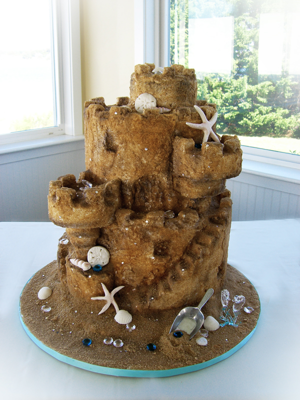 Sand Art Cake Mix : Sand Castle cake by TiffsWickedCakes on DeviantArt