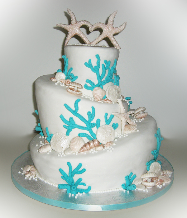 Under The Sea Cake By Tiffswickedcakes On Deviantart