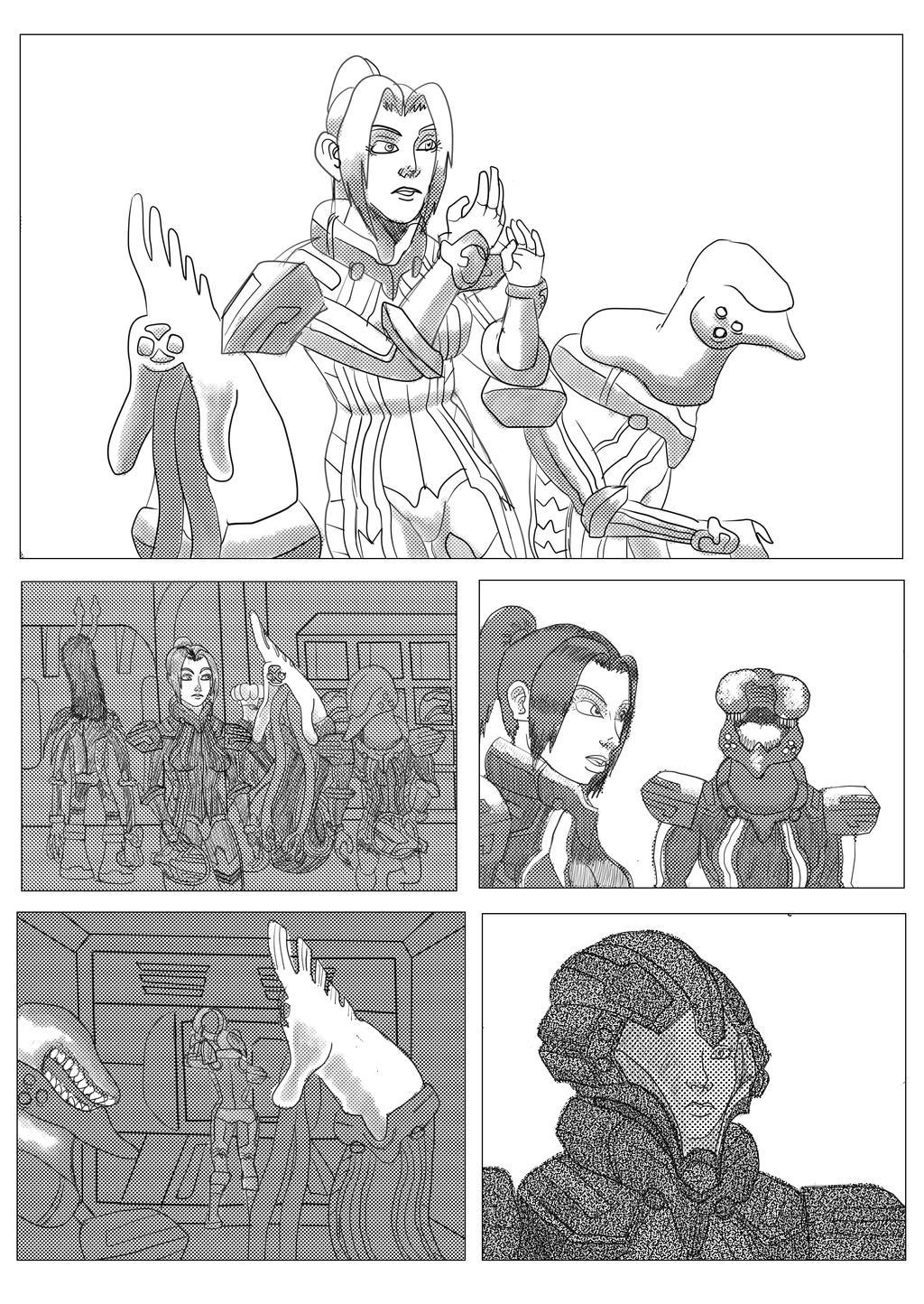 Starfighter Comic Page By Sabertoothliger On Deviantart Fanpage brasileira dedicada a webcomic starfighter. starfighter comic page by