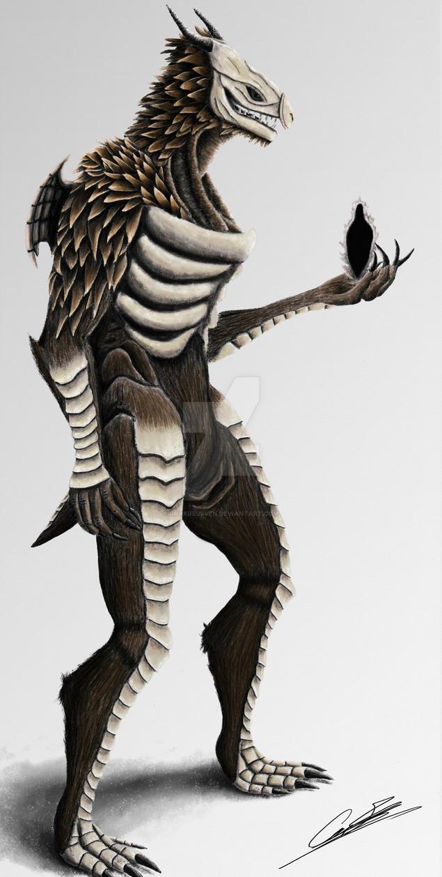 dark souls dragonoid