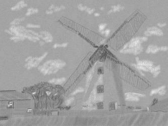 Windmill by nekomusume