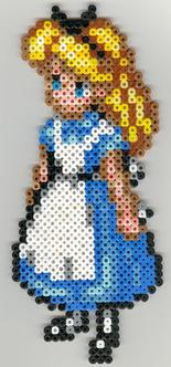 Alice from Alice in Wonderland by nekomusume