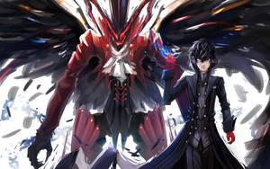 Persona5 Joker by ArkerXx