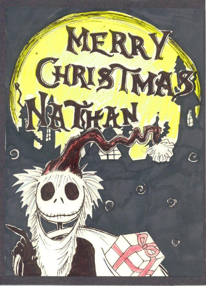 The Best Christmas Card Ever by djn8