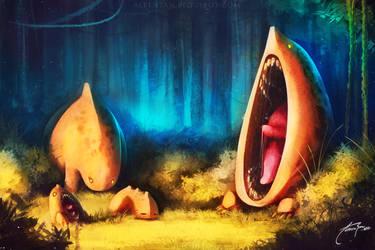 Follow Me Yawn by alben