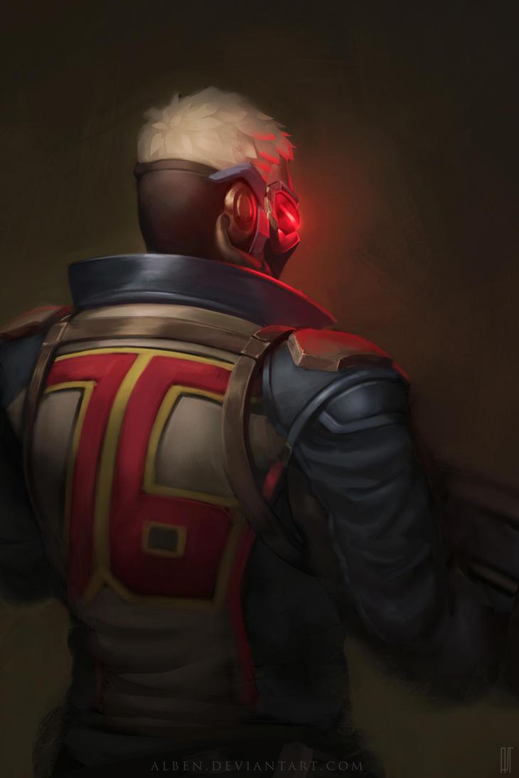 Overwatch - Soldier: 76 by alben