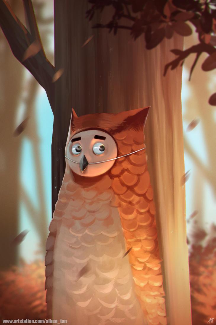 Owl Mascot by alben