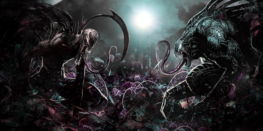 Carnage vs Venom No C4D by Awakening-Scarlet on DeviantArt