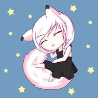 Sleepy kitsune