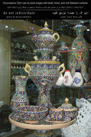 Pottery-container-Teapot-Pitcher-cup-Bowl-photo by by khoshro