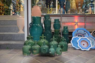 Pottery-jars-Kink-Pool-by marjan khoshro by khoshro