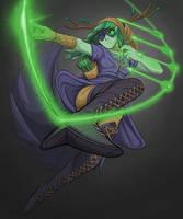 Huntress Wizard by PoisonDynamite