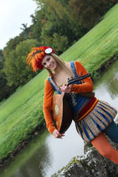 The Witcher -Priscilla the Bard cosplay