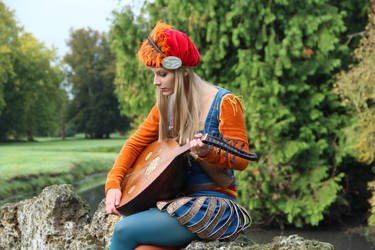 The Witcher - Priscilla the bard cosplay