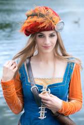 The Witcher - Priscilla, the Callonetta - Cosplay