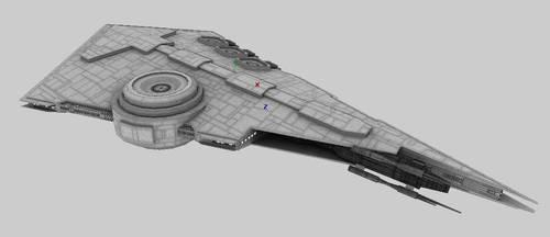 Imperial Adjudicator-class Customs Frigate