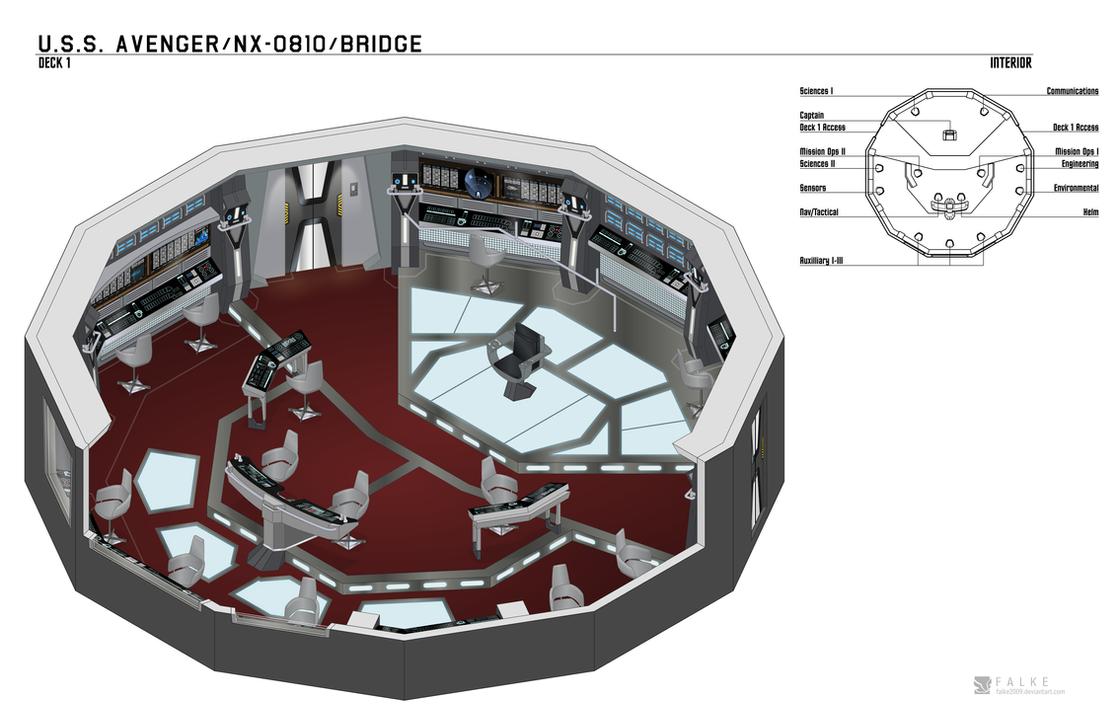 Uss Avenger Avenger Class Bridge By Arvistaljik On