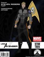 Star Trek - Avenger | Comic Book Cover Art #12