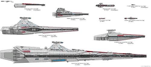 Galactic Republic Capital Ships (Clone Wars AU)