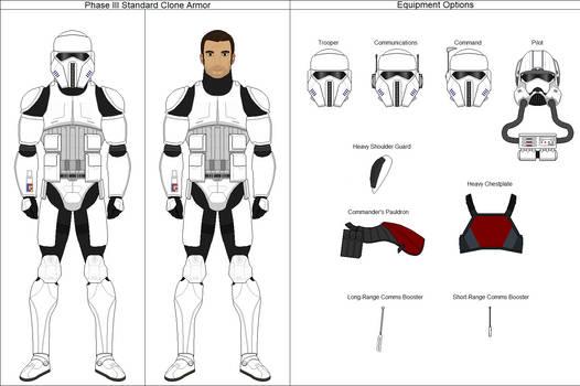 GAR Standard Phase III Armor (Clone Wars AU)