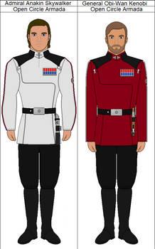 Skywalker and Kenobi (Clone Wars AU)