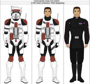 Commander Cody [CC-2224] (Clone Wars AU)