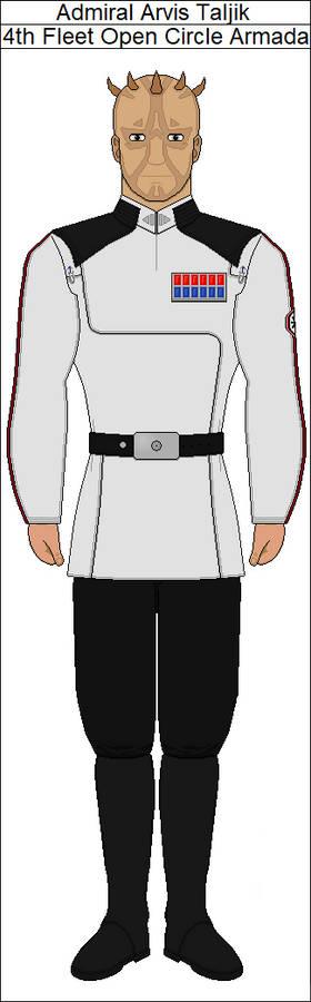 Admiral Taljik (Clone Wars AU)