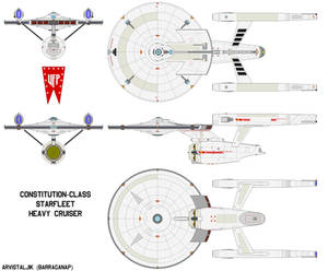 Constitution-class Starship Advanced (TOS AU)
